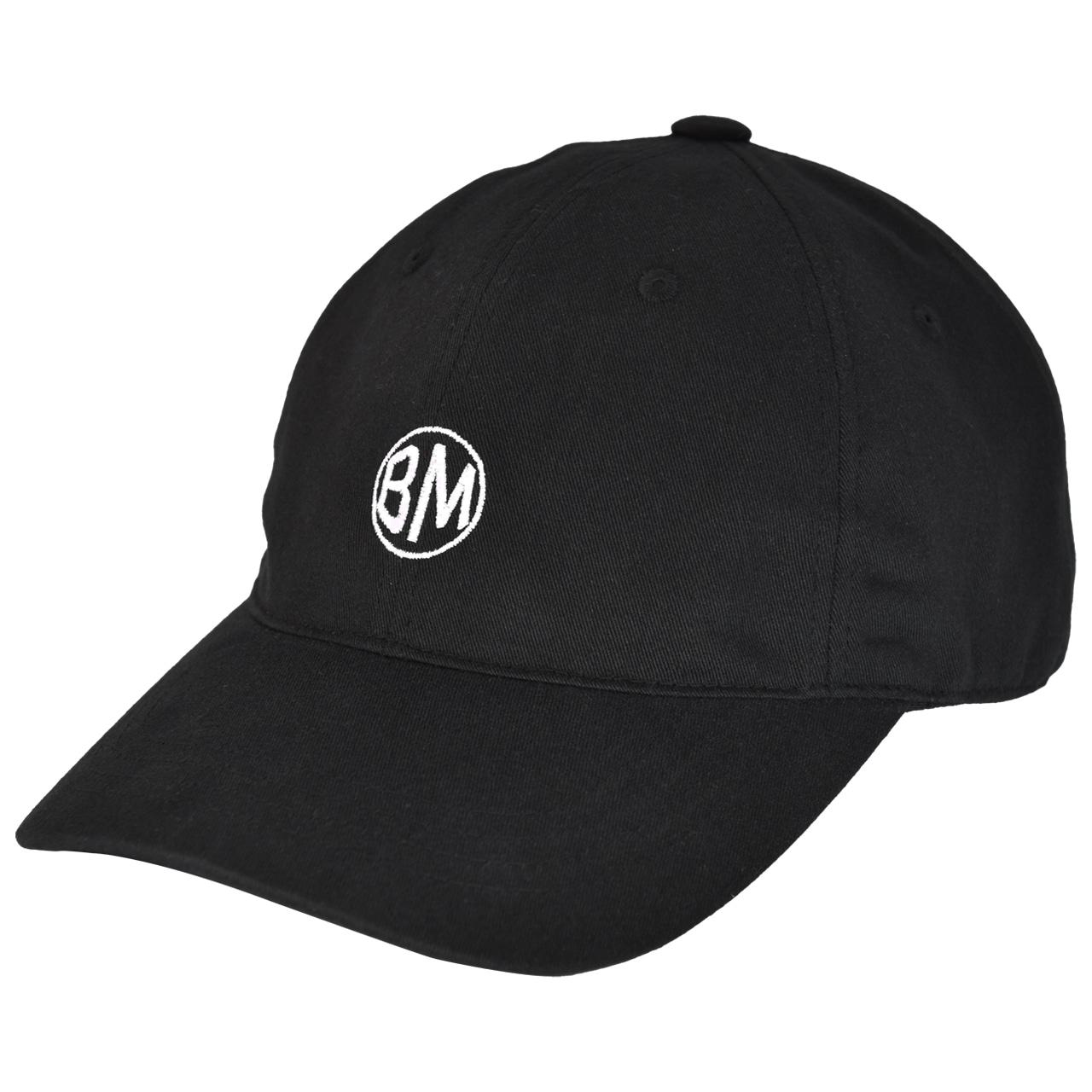 BM Bryn Ribbed Beanie Hat - Black